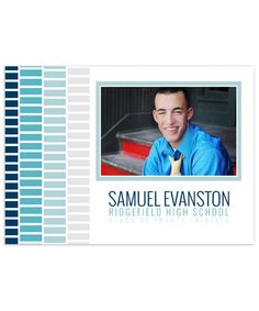 Samuel Senior 7x5 Flat Card