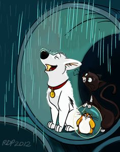 """There is no home like the one you got, 'cause that home belongs to you. Disney Animated Movies, Disney Films, Disney And Dreamworks, Disney Characters, Walt Disney Animation, Animation Film, Disney Fan Art, Disney Fun, Bolt Disney"