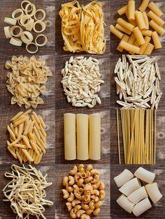 Italian Style Pasta | Italian style  Calamarata - Fetuccine - Rigatoni romani - Farfalle - Cavatelli - Capunti - Penne rigate - Canneloni - Bucatini - Scialatielli - Pipe rigate - Paccheri