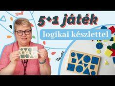 Játékok logikai készlettel - YouTube Math, Games, Learning, Youtube, Logo, Logos, Math Resources, Studying, Gaming