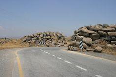 Estrada na Colinas de Golan
