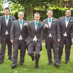 Maids Monday #Teal Wedding Groomsmen