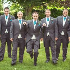 Groomsmen outfits, smart, casual, and unusal outfits for the groomsmen. Pentillie Castle - Cornwall Venue www.pentillie.co.uk