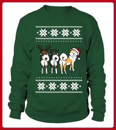 Merry Akita Christmas Limited Edition - Weihnachten shirts (*Partner-Link)