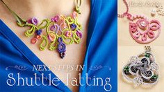 Yarnplayer's Tatting Blog: Tatting techniques taught in my new Craftsy class