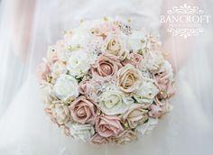 Vintage Foam Wedding Flowers. absolutely stunning