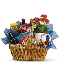 Tons of baseball party ideas!
