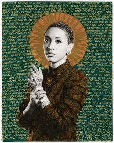 Inspired by Mexican religious art, photographer Gabriel Garcia Roman portrays queer people of color as saints and warriors. [The above portrait is of Julissa Rodriguez. Religious Paintings, Religious Art, Gabriel Garcia, Queer Art, Art Series, American Artists, Art World, Fresco, Art History