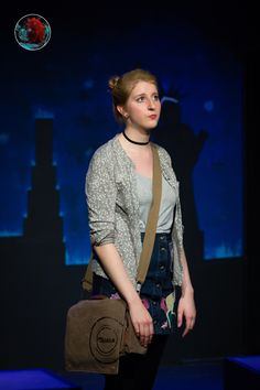 Nora Perone as Deb in 'Ordinary Days LDN' (Hen & Chickens Production, 2016 & London Theatre Workshop, Edinburgh Fringe and Drayton Arms Theatre Productions, Hen Chicken, Ordinary Day, London Theatre, London Photography, Edinburgh, Workshop, Arms, Costumes, Type