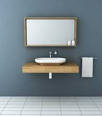 Image result for timber wall hung bathroom vanities