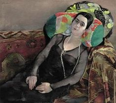 A Russian Imigrant from Baku (Frau Ginda Krettingen), 1932, Conrad Felixmüller (German, 1897-1977)
