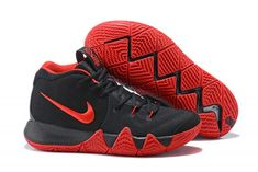 low priced 1c5a5 4ab7e Black Red Kyrie 4 For Sale Cool Adidas Shoes, Adidas Shoes Outlet, Nike  Outlet