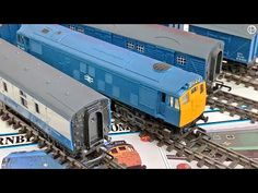 Hornby Railways BR Class 25 Diesel Electric with Parcel Vehicles Electric Locomotive, Model Trains, Diesel, Education, Vehicles, Youtube, Diesel Fuel, Model Train, Learning