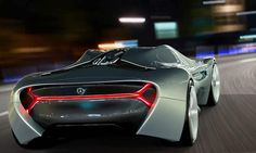 The futuristic ELK electric supercar concept, is a proposal for Mercedes Benz. The ELK Mercedes electric concept car, designed by Antonio Paglia. Mercedes Electric, Electric Vehicle, Mercedes Benz Germany, Pt Cruiser, Futuristic Cars, Unique Cars, Top Cars, Transportation Design, Future Car