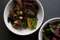 Warm Beet, Swiss Chard, and Hazelnut Salad Recipe on Food52 recipe on Food52