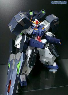 Gundam Papercraft: 1/40 Scale GN-008 Seravee GNHW/B