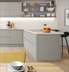 Euro Matt Dove Grey Kitchen Range