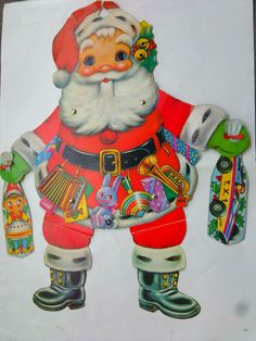 old yugoslavia christmas paper doll