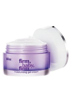 """This lightweight moisturizer delivers the power of phyto-retinoids through a cocktail of natural, soothing ingredients such as lavender, aloe, and gardenia stem cells. """"I love this product for oily or acneic skin types because it has apple extract to help brighten and fade acne scarring and peptides to firm and tighten pores,"""" says Beck. Bliss, 'Firm, Baby, Firm' Moisturizing Gel Cream, $62; sephora.com   - ELLE.com"""
