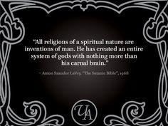 Anton LaVey Questions: Isn't Satanism a religion?