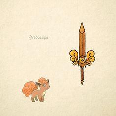 No. 037 - Vulpix. #pokemon #vulpix #sword #pokeapon