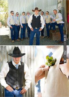 cowboy wedding attire   CHECK OUT MORE IDEAS AT WEDDINGPINS.NET   #bridesmaids