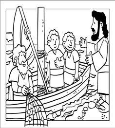 Milagros de Jesús. La pesca milagrosa