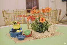 Kerwina's Pista sa Nayon Themed Party - Table Centerpiece 75th Birthday, 1st Birthday Parties, Themed Parties, Fiesta Theme Party, Party Themes, Theme Ideas, Party Table Centerpieces, Table Decorations, Filipino