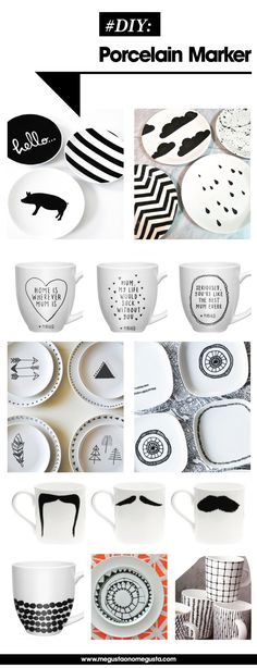 Best DIY Porcelain Marker Craft Ideas!