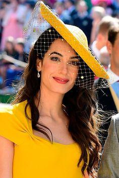 The exact make-up Amal Clooney wore to the royal wedding- HarpersBAZAARUK