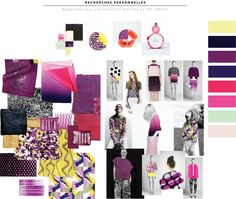 Mathilde Brégeon : Personal inspiration Research Board love the colours.