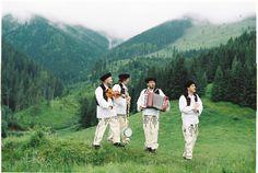 Slovak folk wedding in the mountains