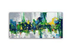 Abstract Green Painting Office Art Print Art #art #print #giclee @EtsyMktgTool http://etsy.me/2ijl9aI