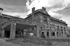 Reported to be haunted. The Buck Hill Inn has been abandoned since 1991