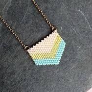 Chevron Necklace by LoelaLoela on Etsy Beaded Jewelry Designs, Seed Bead Jewelry, Handmade Jewelry, Seed Beads, Hook Bracelet, Chevron Necklace, Bead Art, Bead Weaving, Beaded Earrings