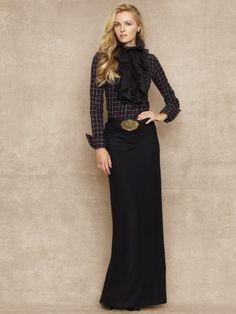 Morgan Wool Maxiskirt - Skirts & Shorts Women - Ralph Lauren UK