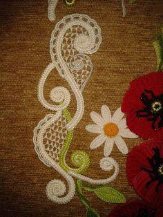 çiçek motifi yapımı
