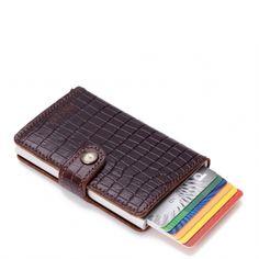 Secrid Mini Wallet Portemonnee brown amazon