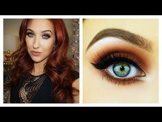 Trendy Eye Makeup Tutorial - YouTube