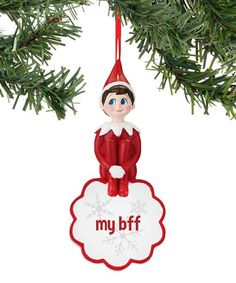 The Elf on the Shelf® 'My BFF' Ornament