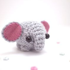 Make your own little zoo, starting with the cutest DIY baby elephant.