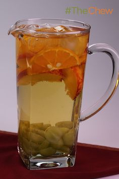 "It's tax day, so unwind with a little ""Tax White-Off"" Sangria by Clinton Kelly!"
