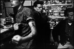 """The photography of Bruce Davidson-1959""""BrooklynGang"""" series"""