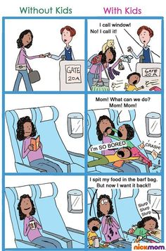Kjære du som skal fly med barn.. visste du at....?