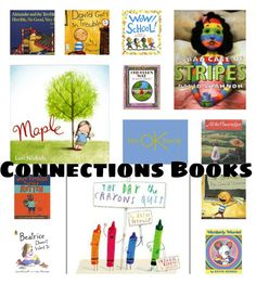 Books for Making Connections Lessons and link to other comprehension strategy books/ideas Comprehension Strategies, Reading Strategies, Reading Skills, Reading Comprehension, Reading Centers, Reading Groups, Reading Workshop, Kindergarten Reading, Teaching Reading