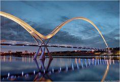 Stockton Infinity Bridge stockton infinity bridge. Seri Wawasan Bridge