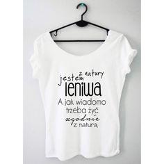 Time For Fashion Z natury / t-shirt biały