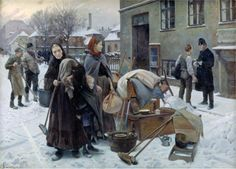 'Desalojados' Erik Henningsen (1892)