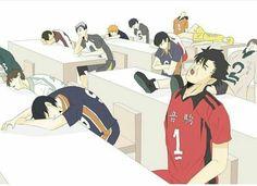 what's happening in the back there oml Haikyuu Karasuno, Haikyuu Funny, Haikyuu Manga, Haikyuu Fanart, Haikyuu Ships, Kagehina, Kuroo, Anime Manga, Anime Guys