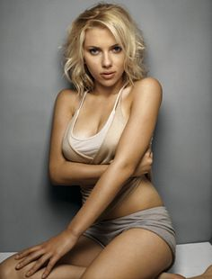 scarlett johansson- she could play me in a movie